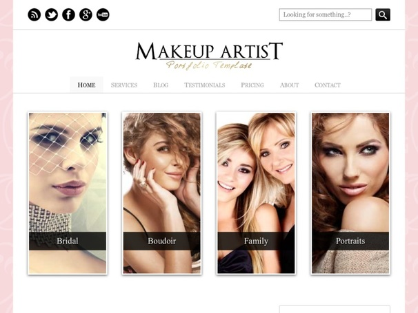 makeup artist website - lareal.co